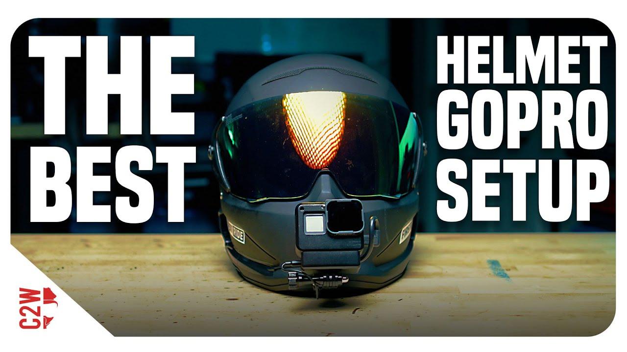 This Is The Best Helmet Gopro Setup Motorcycle Helmet Camera