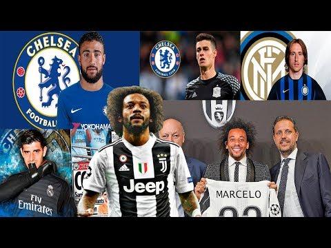 MERCADO DE FICHAJES 2019 CONFIRMADOS y rumores Marcelo, Kepa al Chelsea, Fekir y mucho más!