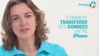 Comment transférer les données de son iPhone ?