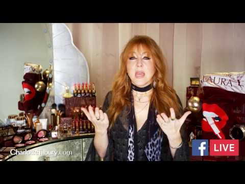 Facebook Live HIGHLIGHTS exclusive Fan Q&A with Charlotte Tilbury