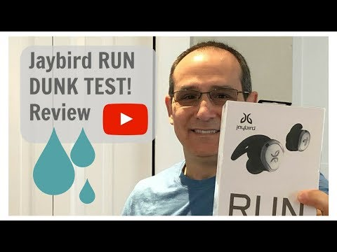 Jaybird RUN- DUNK TEST Review