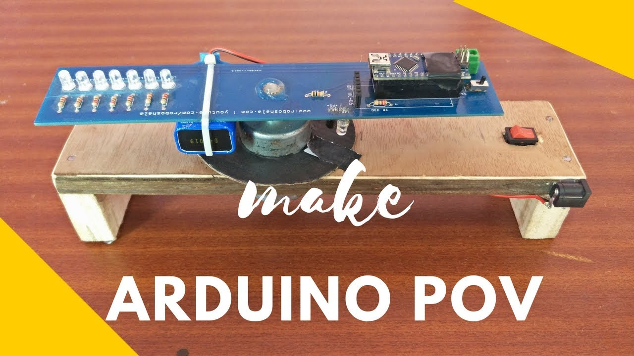 Make Arduino Pov Clock