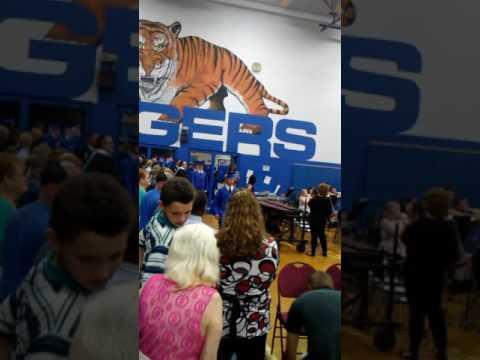 Princeton Senior High School 2017 graduation entrance