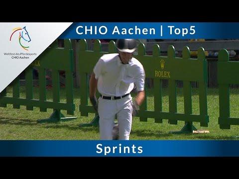 CHIO Aachen Top5: sprints