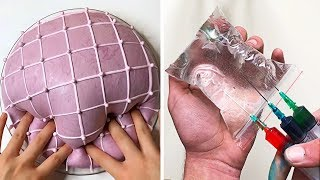 Relaxing Slime Compilation ASMR | Oddly Satisfying Video #44