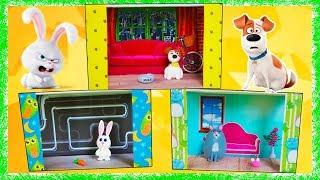 Тайная Жизнь Домашних Животных 2 Secret Life of Pets 2 Домики и игрушки