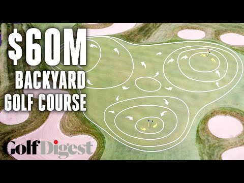 Every Feature of a $60 Million Backyard Golf Course in the Hamptons | Green Fees | Golf Digest