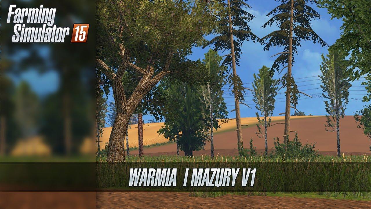 Warmia I Mazury V Map Farming Simulator ᴴᴰ YouTube - Norway map ls 2013