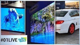 CES 2018 - 01LIVE #1 : Samsung, Sony, voiture autonome, les grosses nouveautés depuis Las Vegas
