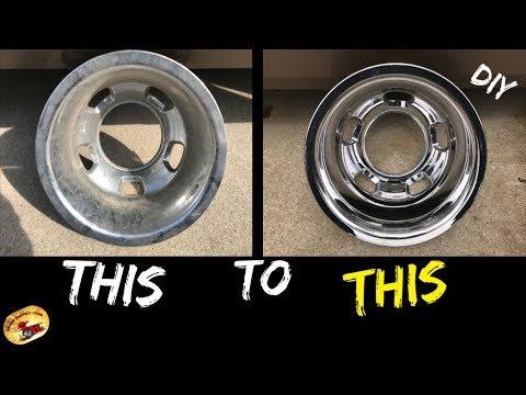 How To Buff & Polish Any Wheel or Rim or Simulator... Chrome, Aluminum, Powder Coated