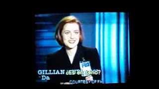 Gillian Anderson: Elección de Dana Scully para The X Files.