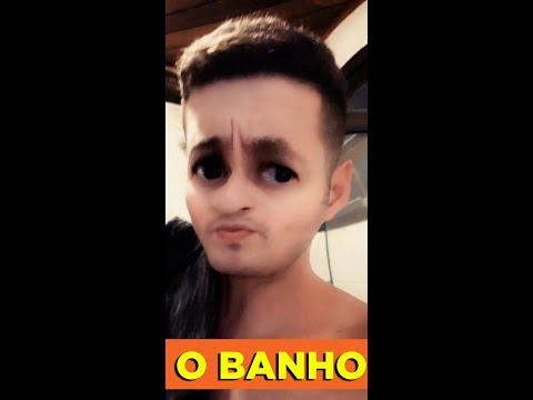 O BANHO  AS AVENTURAS DE PEDRO E TIAGO