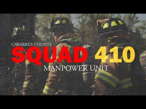Squad 410: Cabarrus County's manpower unit