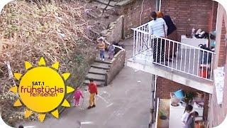 Rassismus in Deutschland? : AUSLÄNDER werden RAUSGESCHMISSEN! | SAT.1 Frühstücksfernsehen