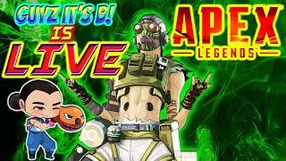 [LIVE] APEX LEGENDS GAMEPLAY // AVERAGE OCTANE PLAYER [PS4]