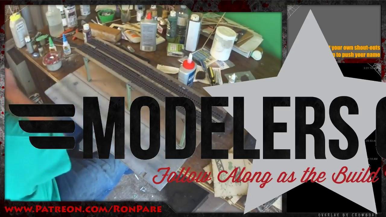 JaSM Replays: Diorama build Part 3 | Brooklyn D Line El Train 25-June2017