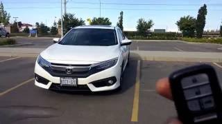 Honda Civic 2018 2017 2016 Key Fob; Tips & Tricks (Features), Honda Accord Smart entry system 2017
