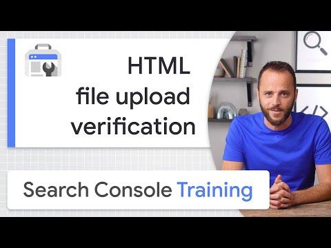HTML file upload