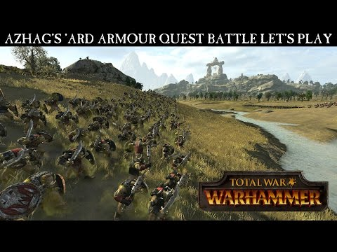 Total War: WARHAMMER Gameplay Video - Azhag's Quest Battle Let's Play