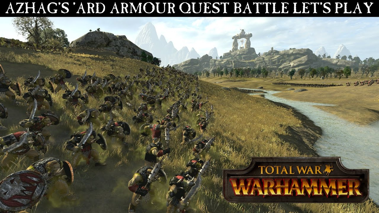 Download Total War: WARHAMMER Gameplay Video - Azhag's Quest Battle Let's Play