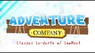 CLASSES EXPLAINED AND SPENDING 2000 GEMS! - Adventure Company Guide