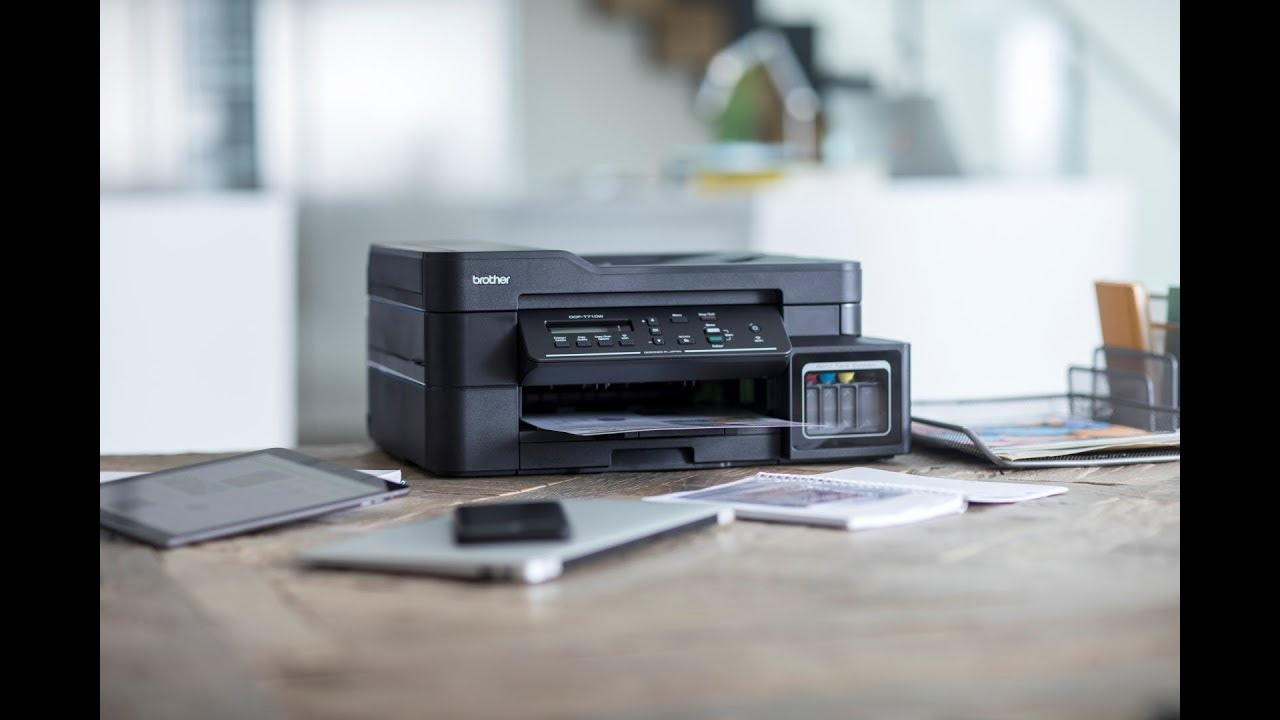 Brother DCP-T710W wireless 3-in-1 colour inkjet printer overview