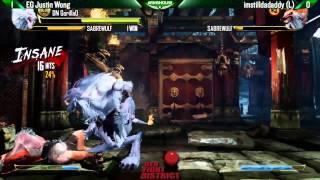 EG Justin Wong (Sabrewulf) vs imstilldadaddy (Sabrewulf) - GRAND FINAL KI RFD14