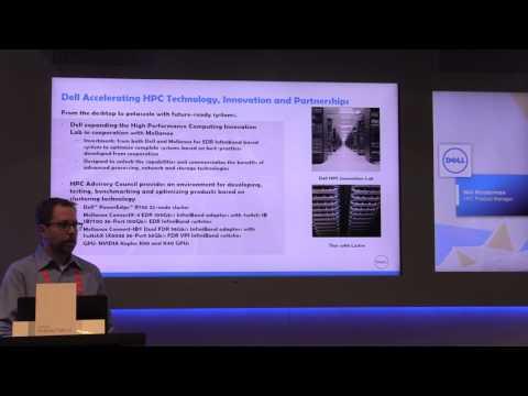 Dell Accelerating HPC Technology, Innovation & Partnerships - SC'15