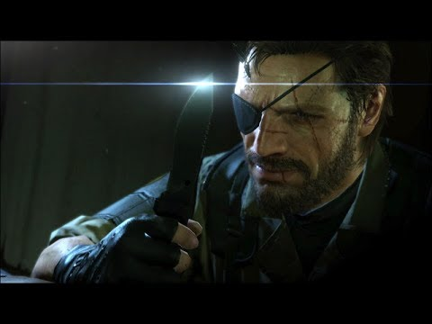 MGS V | All CQC animations