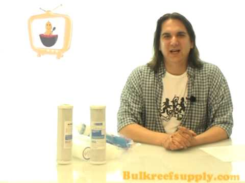 Reverse Osmosis Filters Demo - Bulk Reef Supply