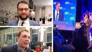 """UCP members walk out of Andrew Scheer's speech: He's not """"strong enough"""" to beat Wexit 