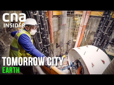 Megaproject: Building Singapore's Deep Tunnel Sewerage System | Tomorrow City | Part 1/3