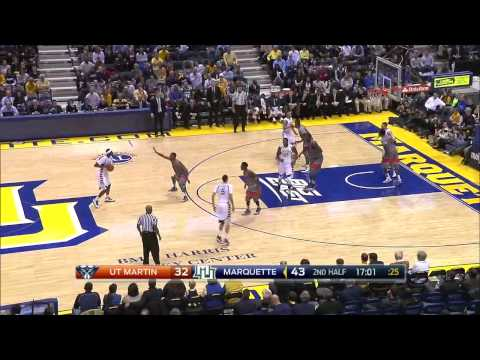 Game Highlights: Marquette 79, Tennessee-Martin 63 - Nov. 14, 2014