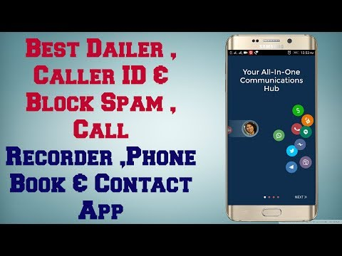 Best Contact Phone Dialer  ,Just  One Swipe   Many Features In One App   Android App Review #16