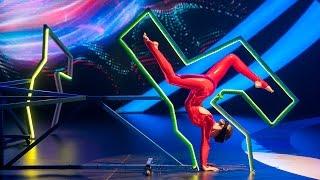 Show «The Incredible people». Oksana Sytova. Muscle memory