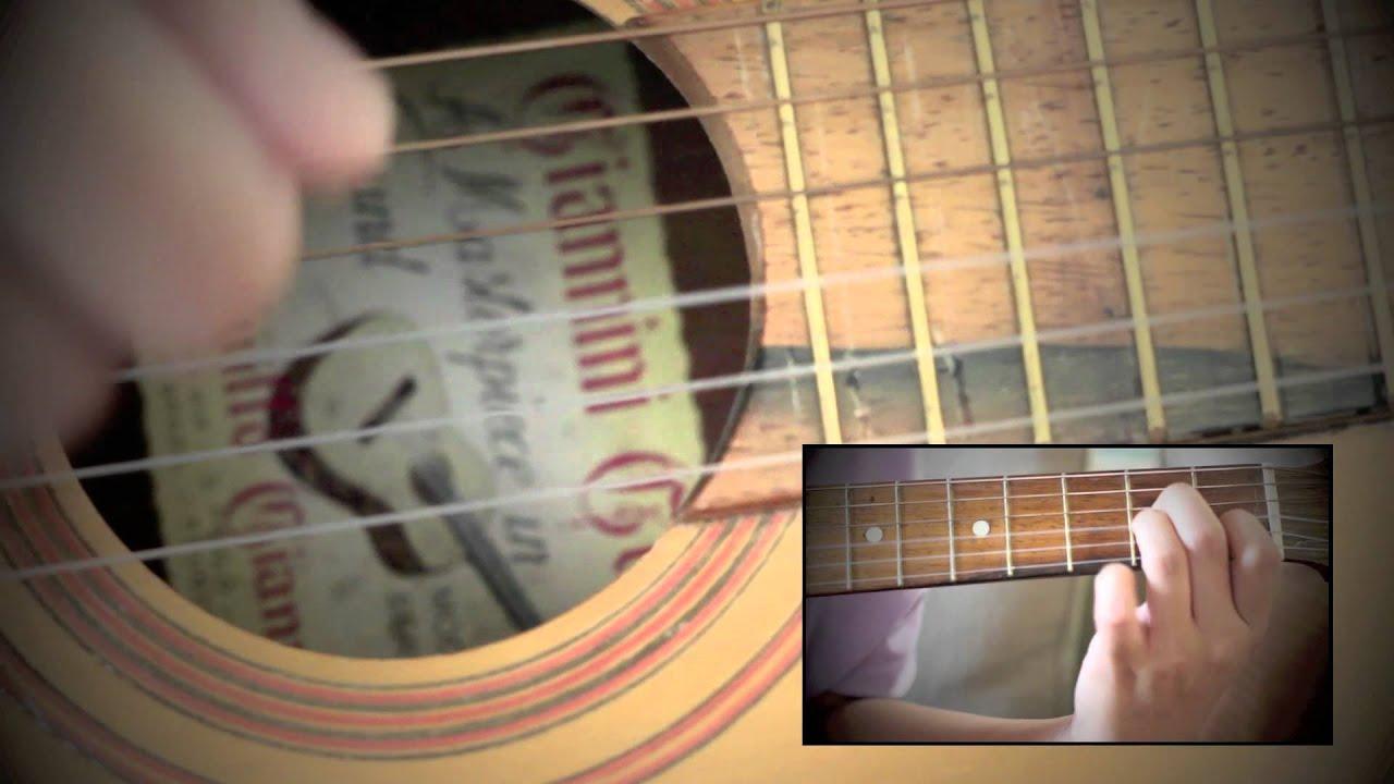 Hiding My Heart Acoustic Tutorial Youtube
