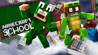 Minecraft SCHOOL - TORNADO HITS THE SCHOOL!!!! - Donut the Dog Minecraft Roleplay
