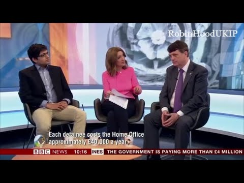 UKIP Gerard Batten deals with a BBC idiot, like a pro