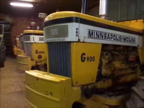 Minneapolus Moline tractor collection