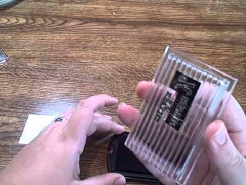 Martha Stewart Custom Stamp Setting Kit Walkthrough