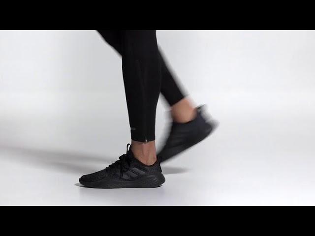 Adidas Fluidflow Shoes Core Black Grey Six Onix EG3666 - YouTube