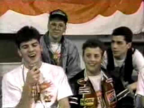 New Kids On The Block on Nickelodeon 1988