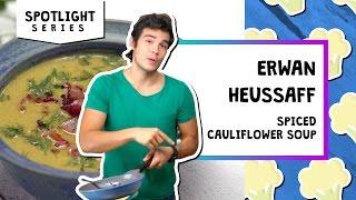 Spiced Cauliflower Soup l Spotlight-Erwan Heussaff