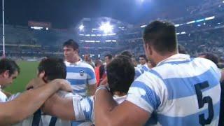 Histórico triunfo de Los Pumas ante Sudáfrica por 37 a 25 en Durban