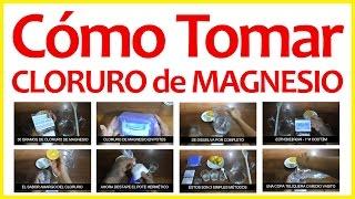 Cómo Preparar Cloruro De Magnesio - Forma Correcta de Tomar thumbnail