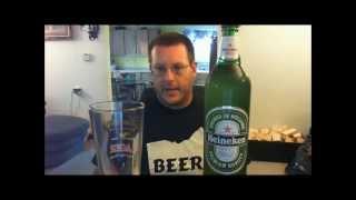 Budget Beer Review- Heineken