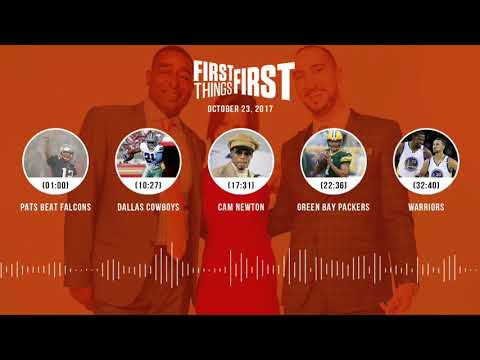 First Things First audio podcast(10.23.17)Cris Carter, Nick Wright, Jenna Wolfe | FIRST THINGS FIRST