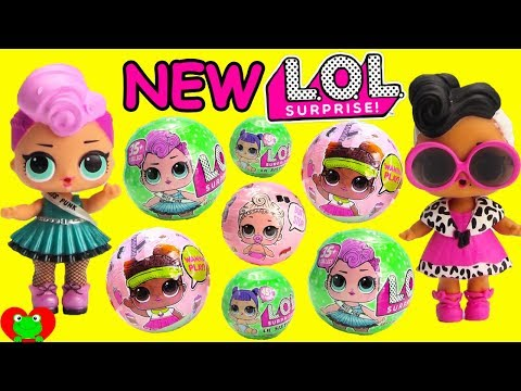 NEW LOL Surprise Dolls Series 2 Wave 2 and Lil Sisters Swimming
