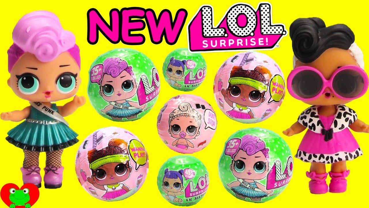 Lil Sisters Series 2 Wave 2 Lot of 2 NEW LOL Surprise