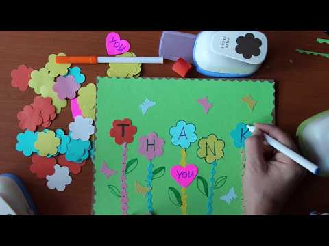 Art Lesson For Kids THANK YOU With Natalka Barvinok